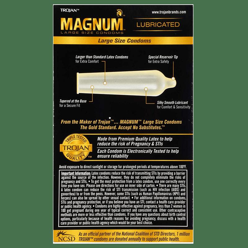 Trojan Magnum Back Side