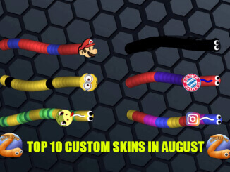 Top 10 Slitherio Custom Skins In August Slitherio