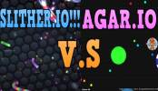Agar.io vs Slither.io
