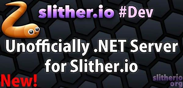 Unofficially .NET Server for Slither.io