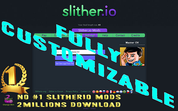 Slither.io Mods UserScript v3-3