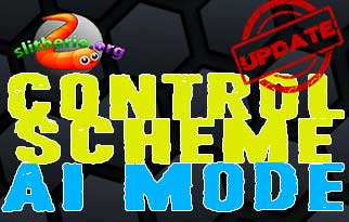 Slither.io Updated - Control Scheme and an AI-Mode