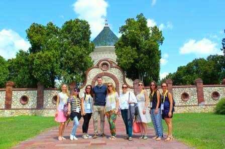 Участие на сливенски ученици в международен лагер в град Печ, Унгария