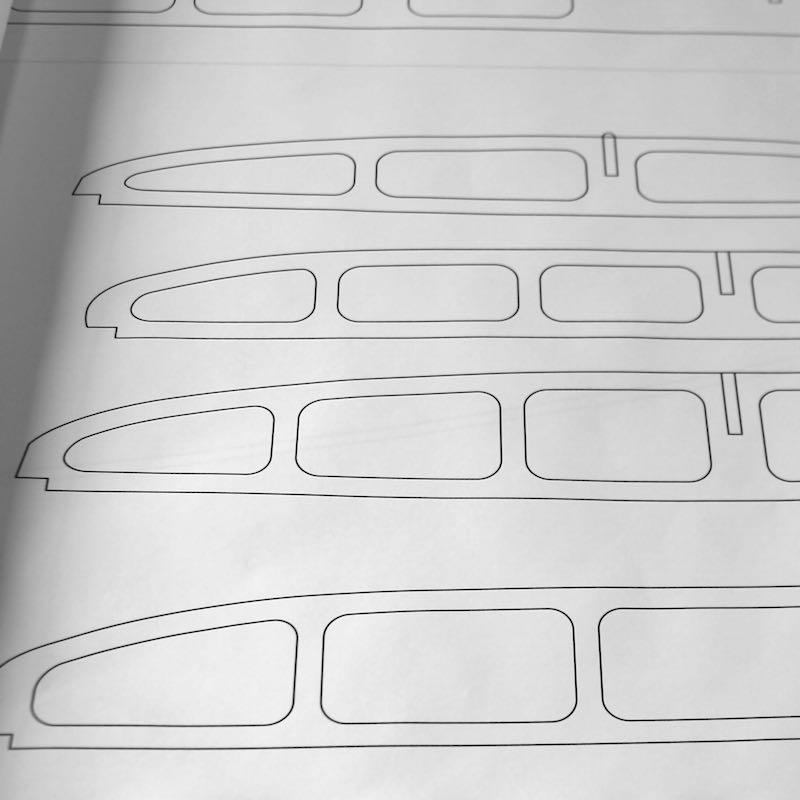 Sup Plans Paper Templates Sliver Paddleboards