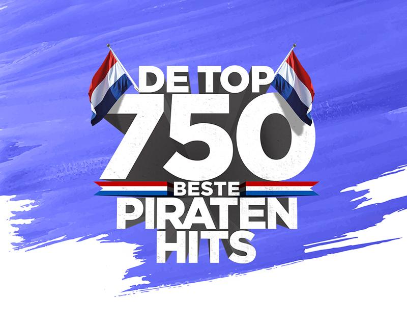Top 750 Piratenhits grafisch ontwerp