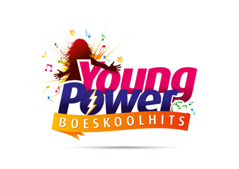 Logo Boeskool is Los Oldenzaal - Young Power Boeskoolhits - Boeskool design, deel 1