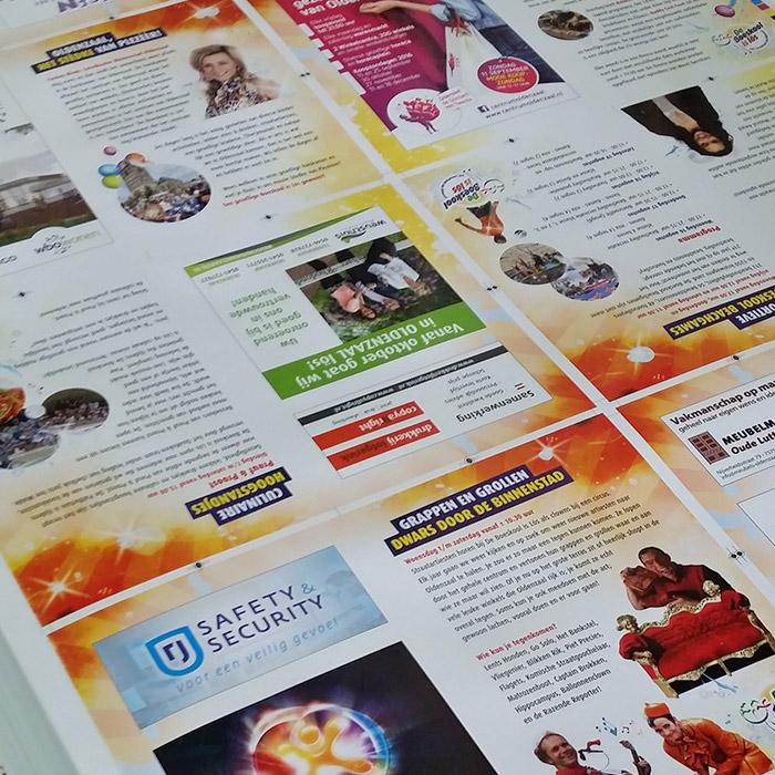 Archieffoto De Boeskool is Los, Oldenzaal | Drukwerk, drukvellen Boeskool magazine