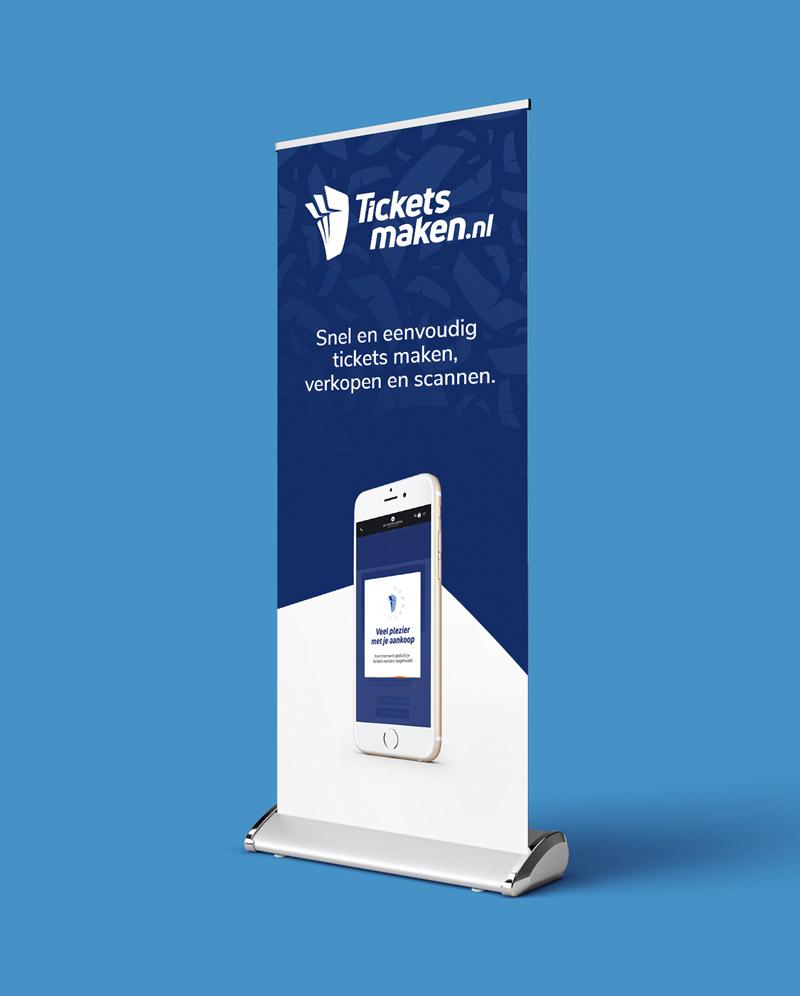 Drukwerk & grafisch ontwerp Slize Oldenzaal - Rolbanner Ticketsmaken.nl