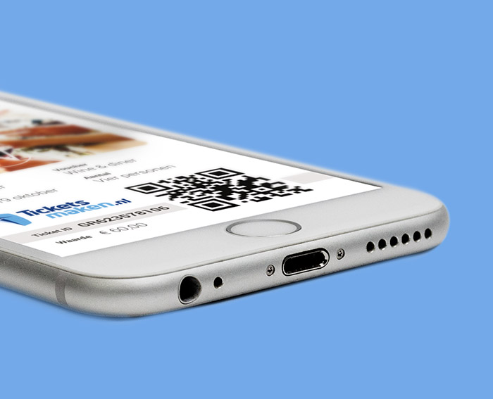 Ticketsmaken - Mobile eticket scan Slize