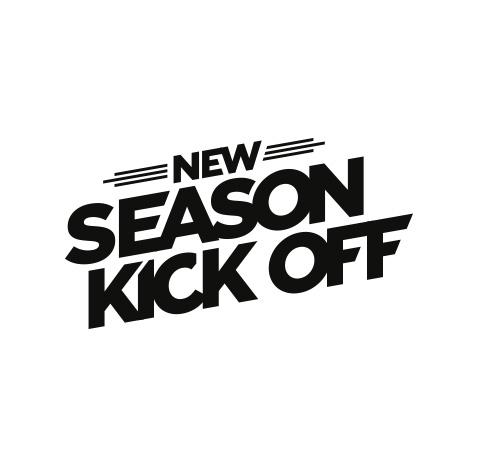 New Season Kick Off - Event logo door Slize, logofolio #2