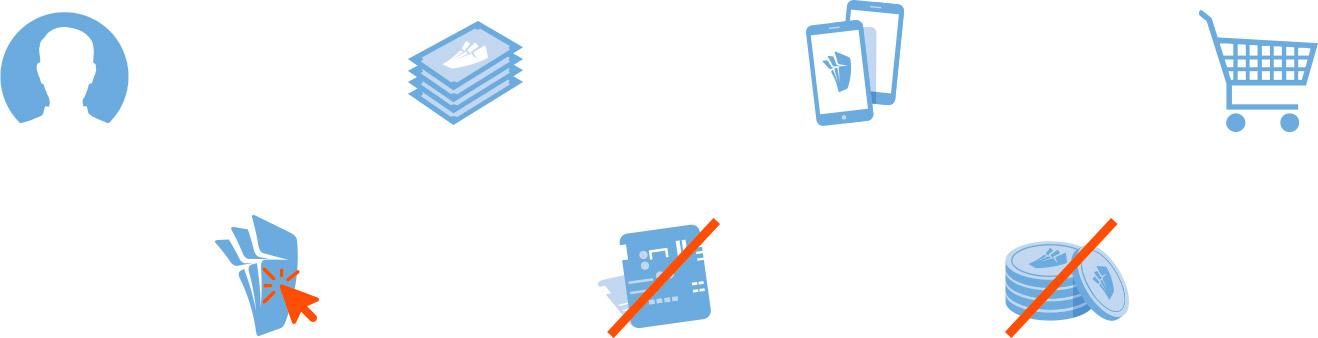 Ticketsmaken.nl logo ontwerp, branding & huisstijl: iconen set