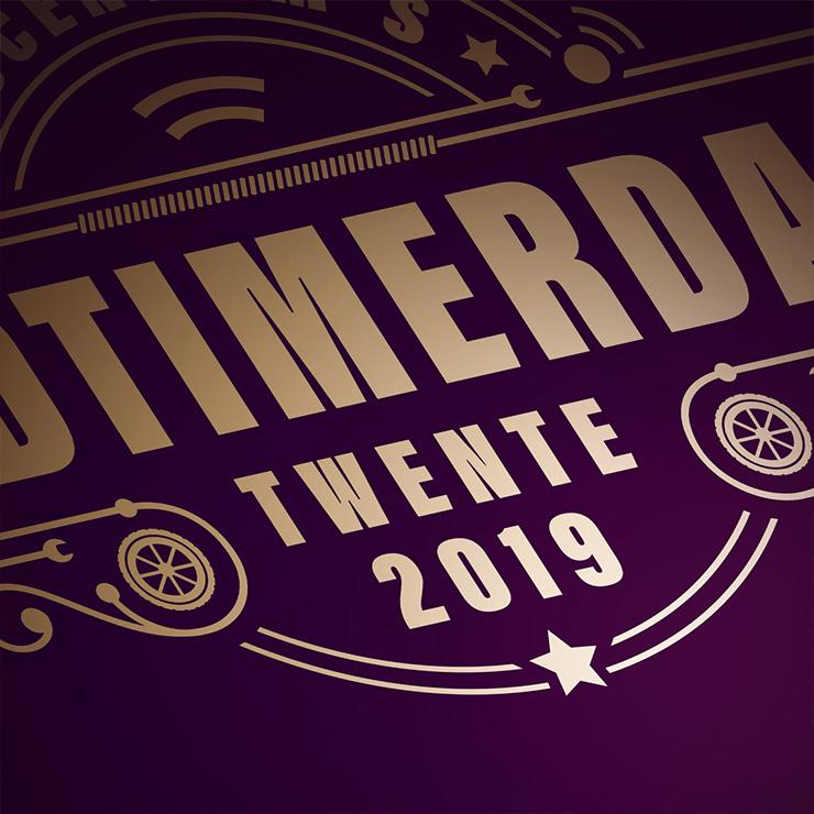 Oltimerdag vintage & retro logo design   grafisch logo ontwerp twente