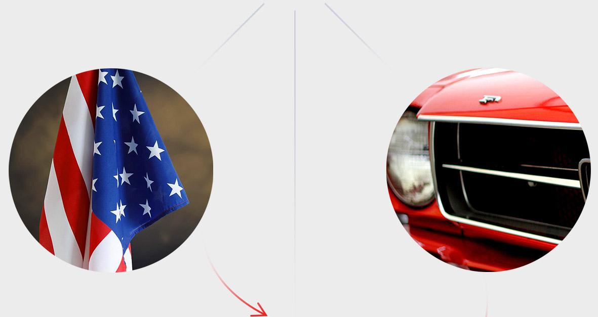 American car classics inspiratie - Logo ontwikkeling stap 3