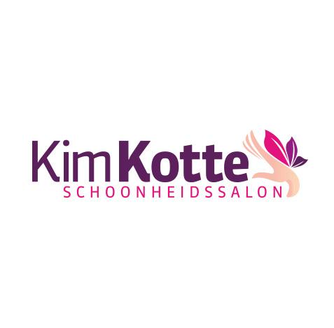 Kim Kotte Beautysalon, schoonheid vrouwlijk logo maken | logofolio 5