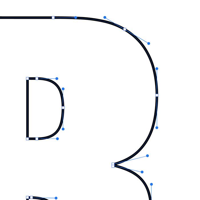 ankerpunten logo ontwerp | Strakke lijnen maken in Adobe illustrator