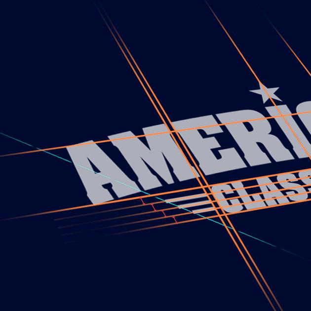 american classics logo ontwikkeling | ontwerp, schets, creatie en final design