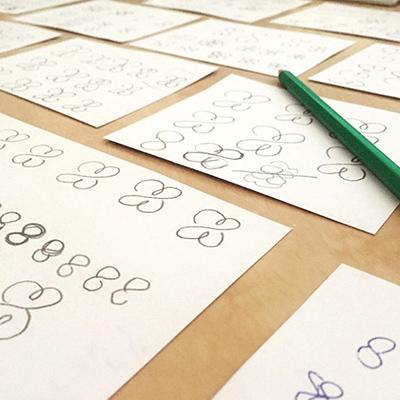 Schetsfase logo ontwerp - van schets naar design Slize Oldenzaal
