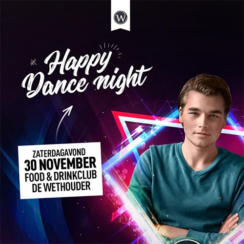 Happy Dance Night Denekamp De Wethouder | content creatie advertentie facebook