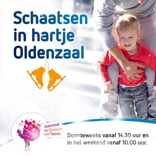IJsbaan Oldenzaal | content creatie social media visuals
