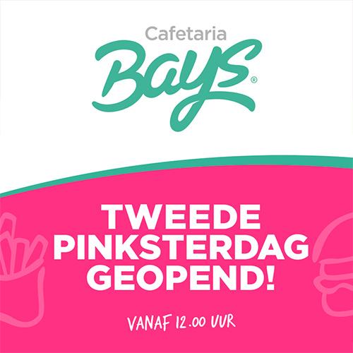 Cafetaria Reutum, tweede pinksterdag geopend | social media post