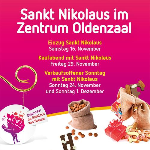 Zentrum Oldenzaal Sankt Nikolaus - social media post duitsland