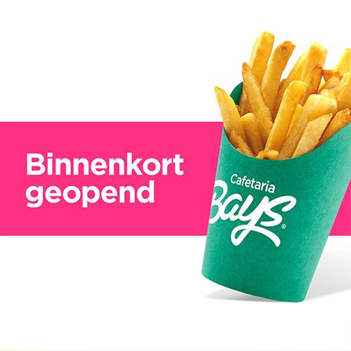 cafetaria bays reutum - binnenkort geopend - social media advertentie