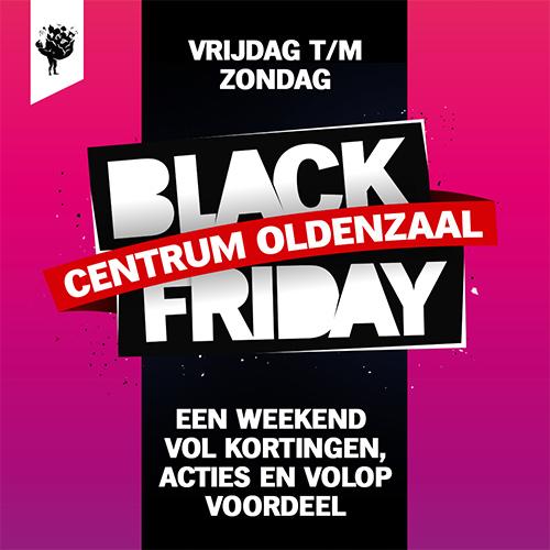 content creatie, centrum oldenzaal - black friday weekend