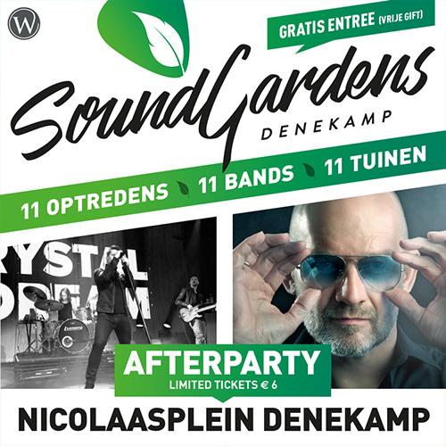 Sound Gardens Denekamp - event design social media post