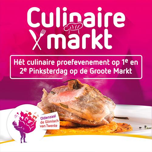 Groote Markt, culinaire markt oldenzaal - social media content