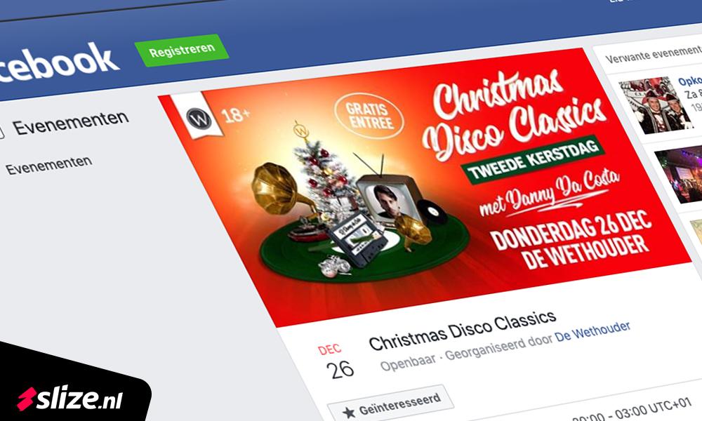 Facebook event omslag foto maken