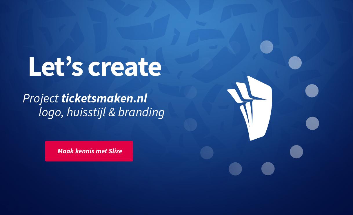 Ticketsmaken.nl - Branding, huisstijl ontwerp en nieuw logo