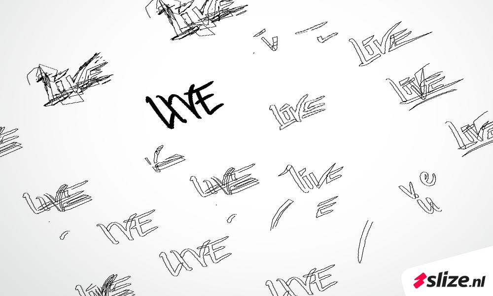 lettertype / logo font maken - creatief met letters