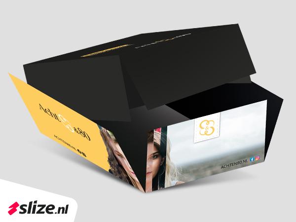 Verpakking in eigen huisstijl en logo maken