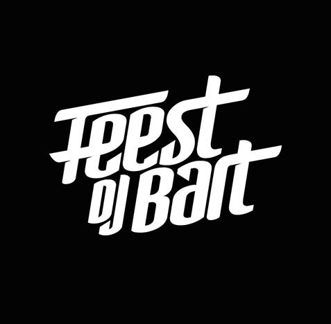 Bart Feest DJ logo ontwerp
