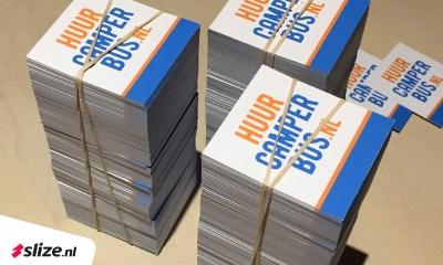 stapeltje drukwerk - kleine kaartjes drukken