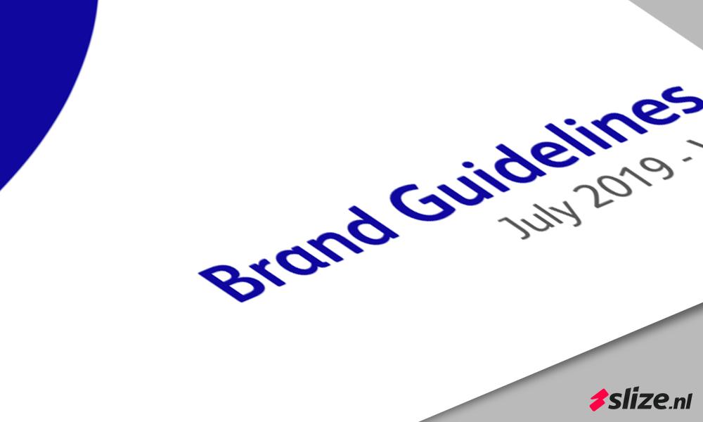 Werken met een huisstijl handboek (Brand Guidelines)