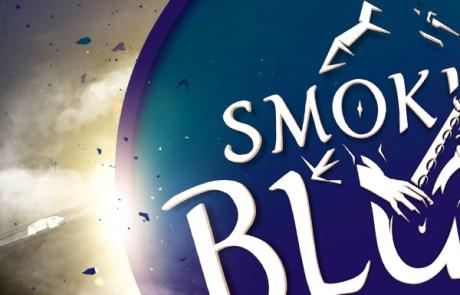 Muziek poster maken, blues festival artwork