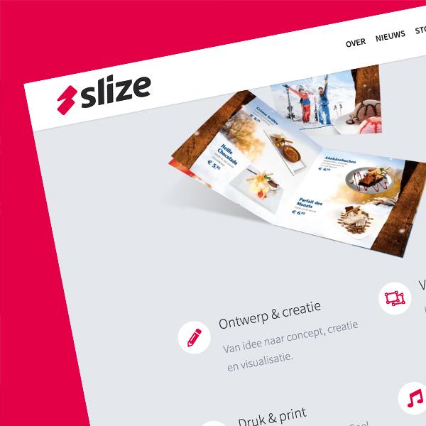 Nieuwe website maken, Slize Oldenzaal