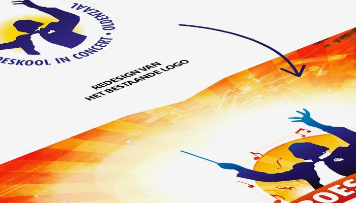 Logo ontwerp Boeskool is Los Oldenzaal