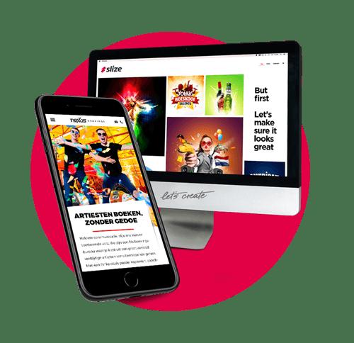 Slize portfolio | Webdesign