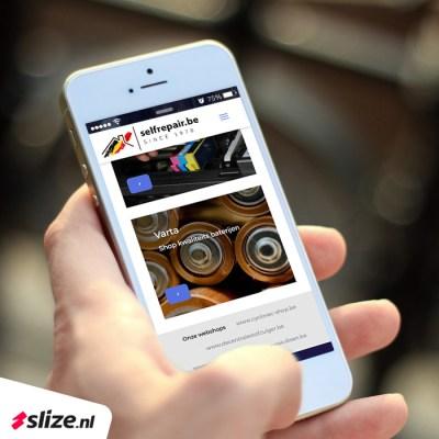 Wordpress webshop maken view mobiele versie