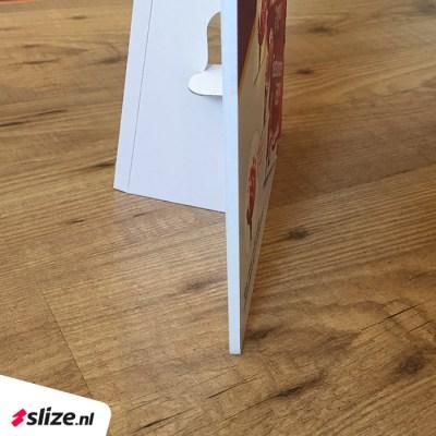 Goedkope baliebordjes bedrukken met handige standaard