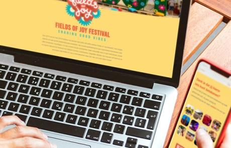 Website landingspagina maken - Fields of Joy Festival x Slize Oldenzaal