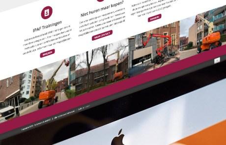 Slize Oldenzaal - Nieuwe website ontwerpen voor Aalderson Rental in Enschede