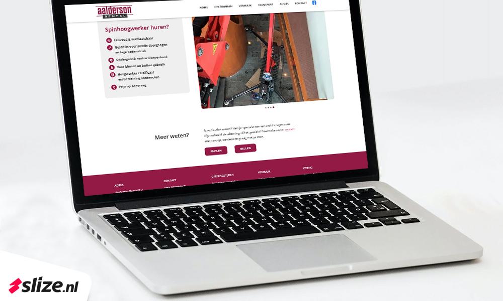 Nieuwe website maken in Wordpress - Website ontwerp en realisatie van Slize Oldenzaal