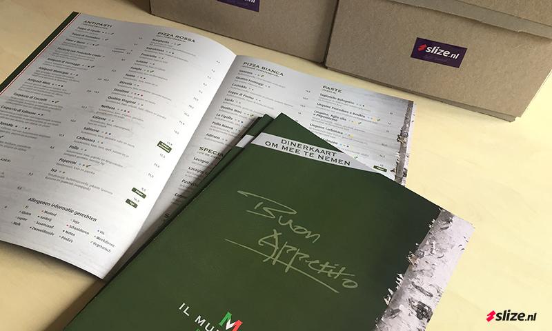 Strooi folders drukken voor Denekamp, Restaurant Il Municipio