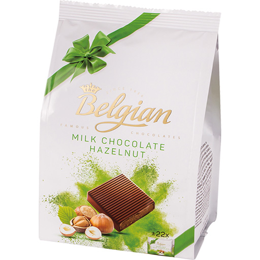 Squares Milk Chco Hazelnut-PNG