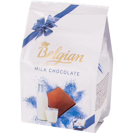 Squares Milk Choco-PNG