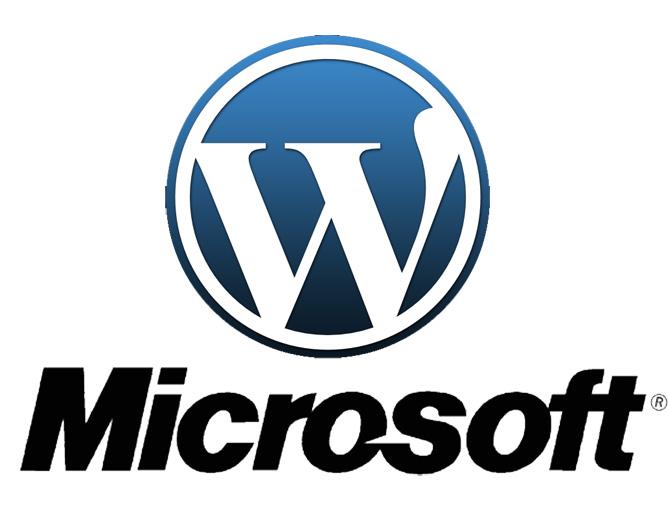 Wordpress & Microsoft
