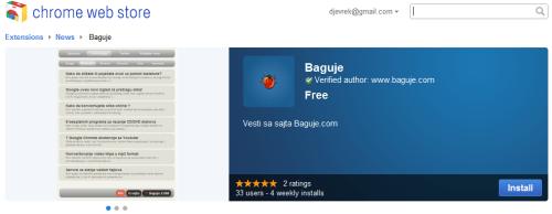 Baguje.COM ekstenzija